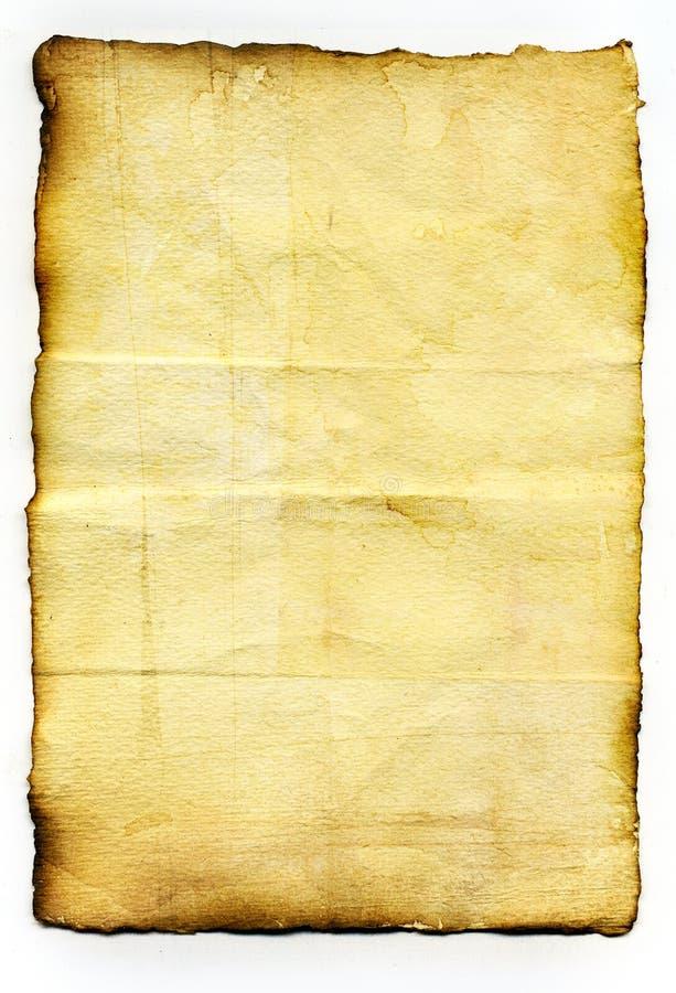 Vieux papier de cru photo stock