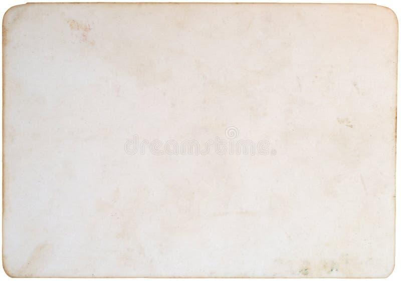 Vieux papier de photo photos stock