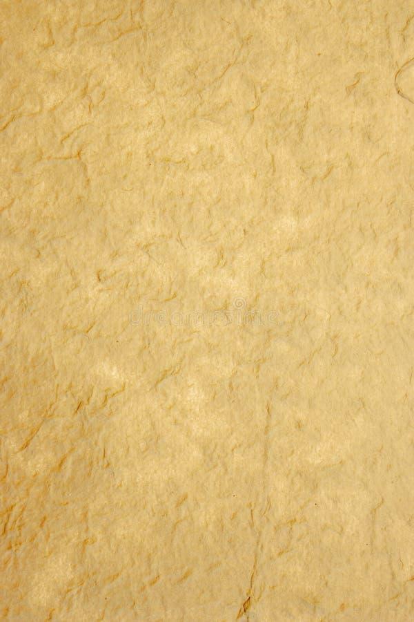 vieux papier de riz fabriqué à la main appuyé images libres de droits