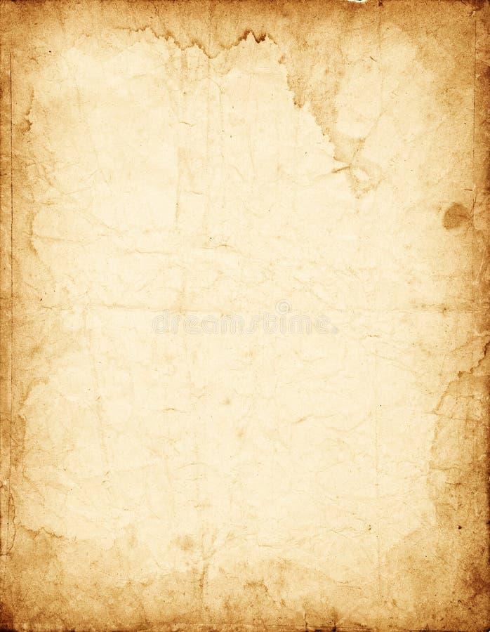 Vieux papier minable images stock