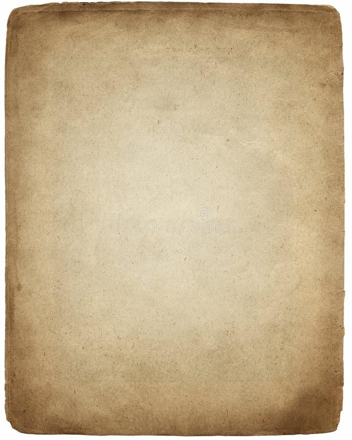 Vieux papier parcheminé illustration libre de droits