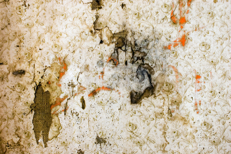 Vieux papier peint 02 photos libres de droits