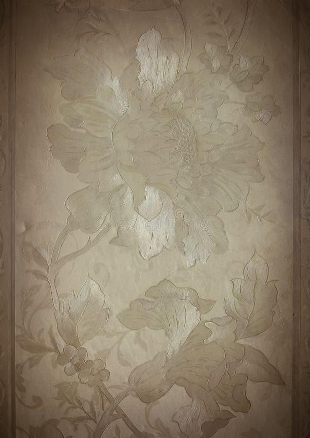 Vieux papier peint. illustration stock