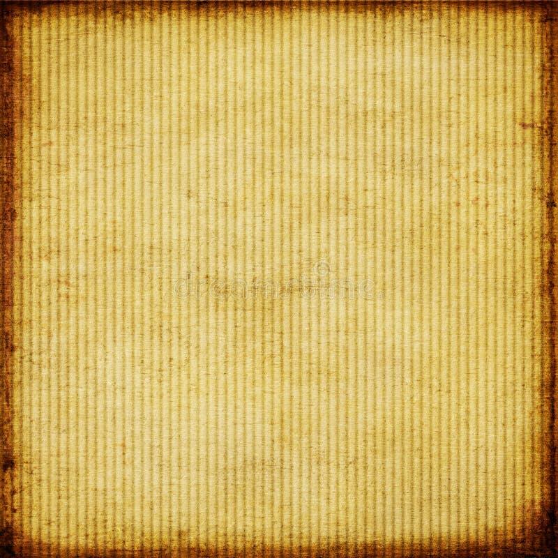 Vieux papier rayé illustration de vecteur