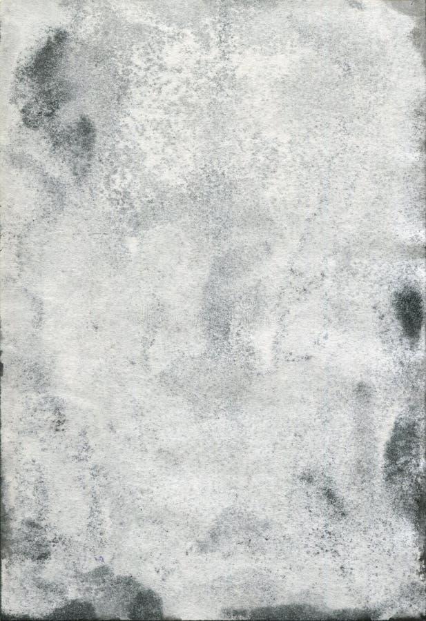 Vieux papier souillé d'aquarelle photos libres de droits