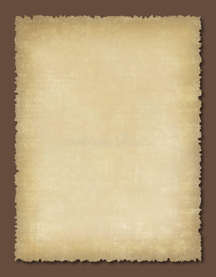 Vieux papier texturisé photo stock