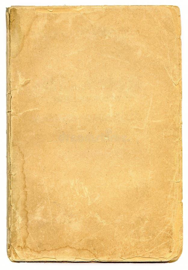 Vieux papier texturisé avec le bord décrépit. photographie stock libre de droits