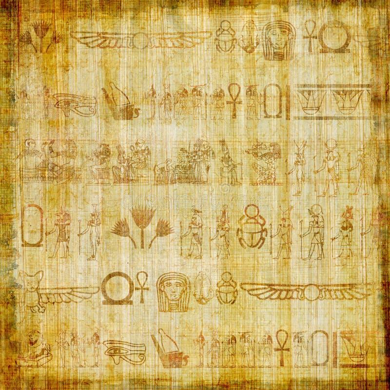 Vieux papyrus illustration de vecteur