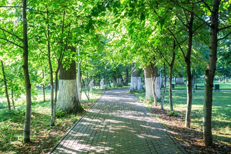 Vieux parc-manoir Belkino dans le jour d'été image libre de droits