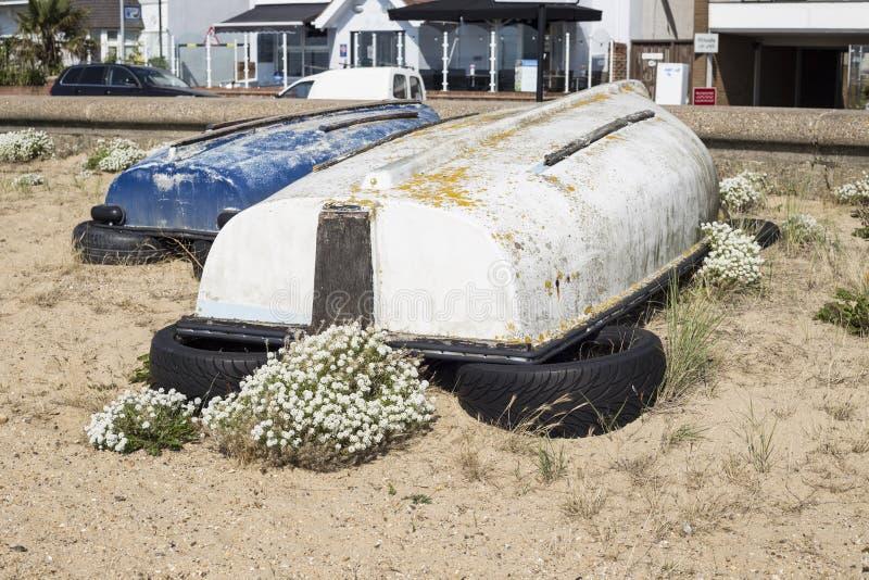 Vieux petits bateaux photos libres de droits