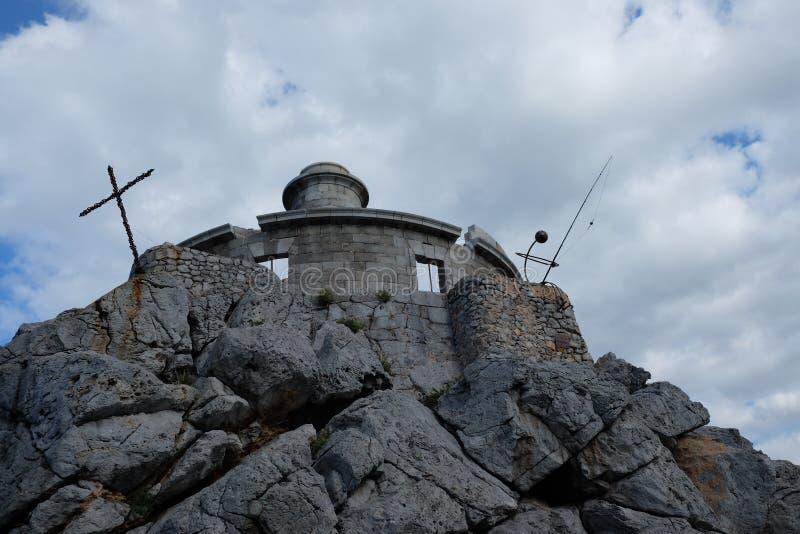 Vieux phare photographie stock