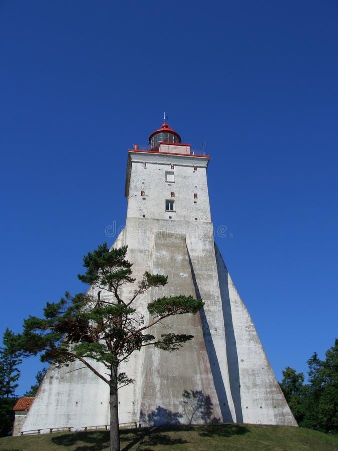 Vieux phare image stock