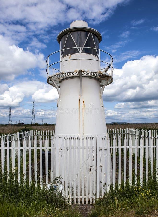 Vieux phare Usk est photos libres de droits
