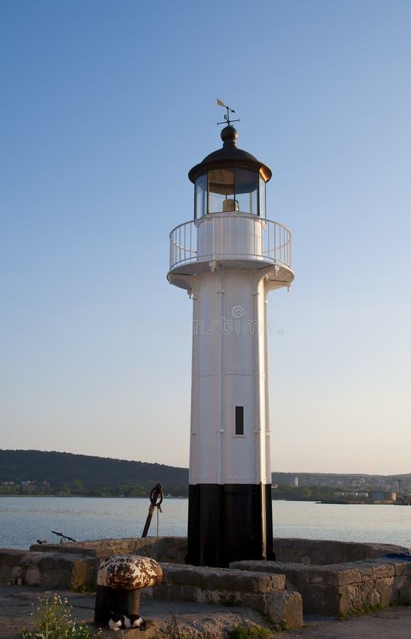 Vieux phare Varna images libres de droits