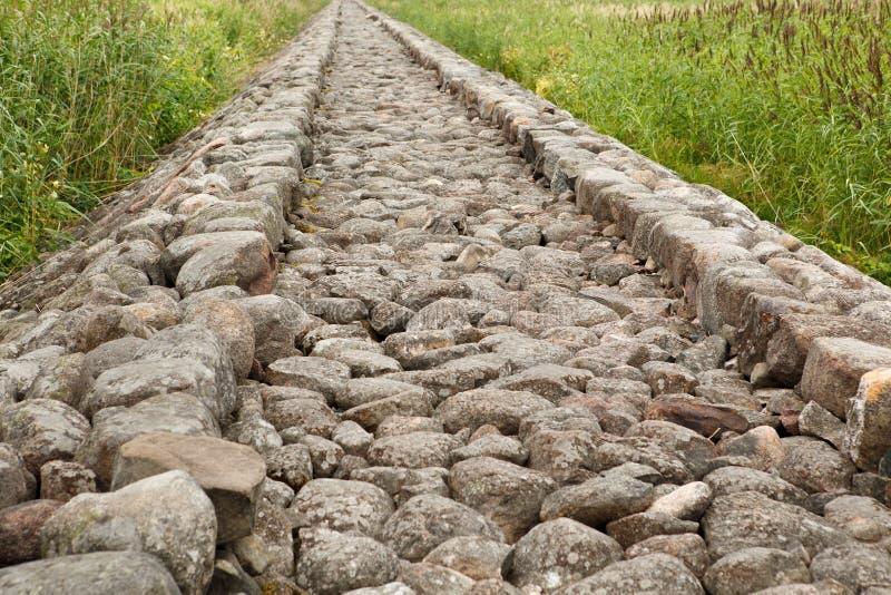 Vieux pilier en pierre photo libre de droits