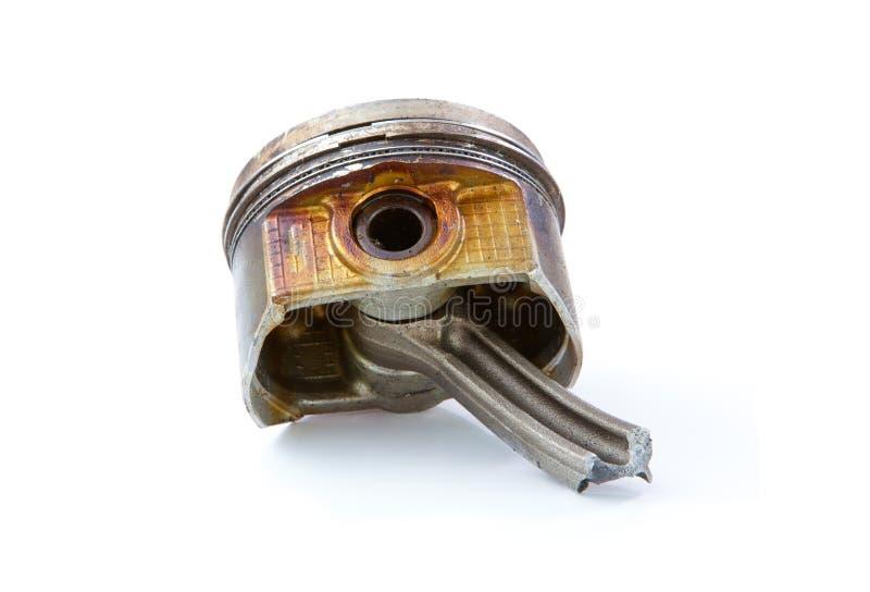 Vieux piston d'engine image libre de droits