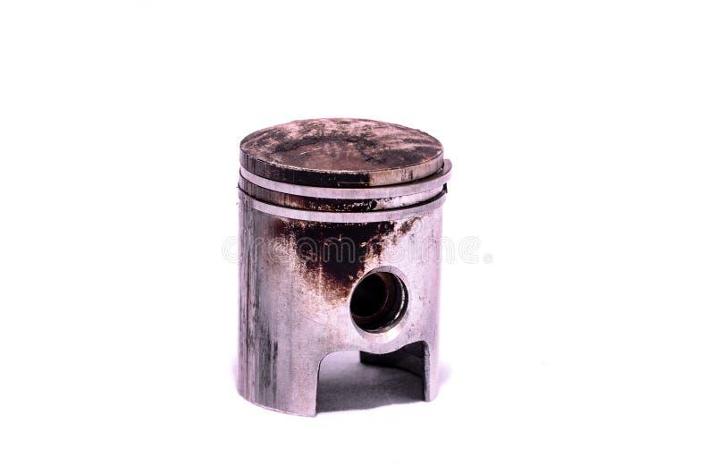 Vieux piston porté de moteur photos stock
