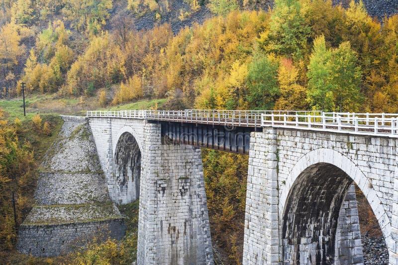 Vieux pont de chemin de fer images stock