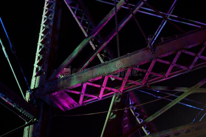 Vieux pont du nord d'avenue photo libre de droits