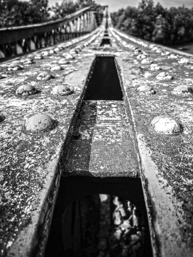 Vieux pont Engelse Dordogne royalty-vrije stock afbeeldingen