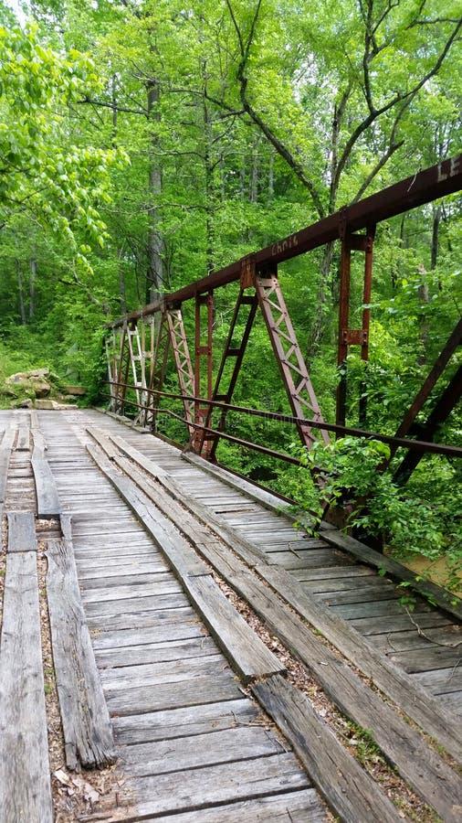 Vieux pont sur Jack Glass images stock