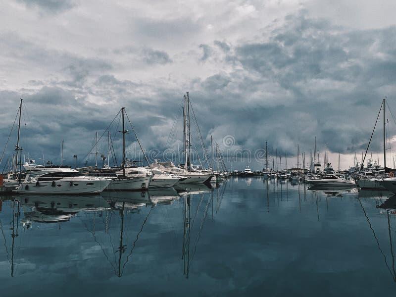 Vieux port à Limassol images libres de droits