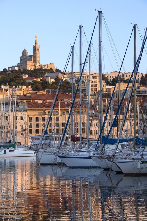 Vieux Port - Marseille - South of France stock photos
