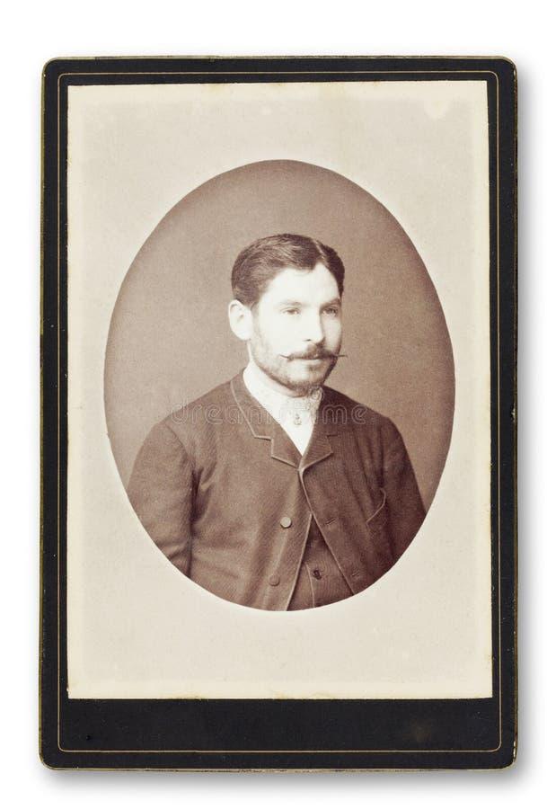 Vieux portrait d'un homme. image libre de droits