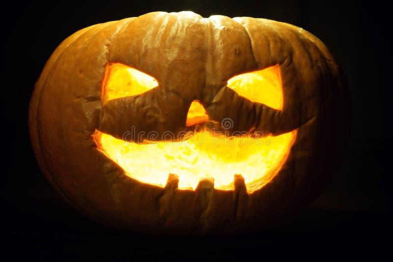 Vieux potiron de Halloween photo libre de droits