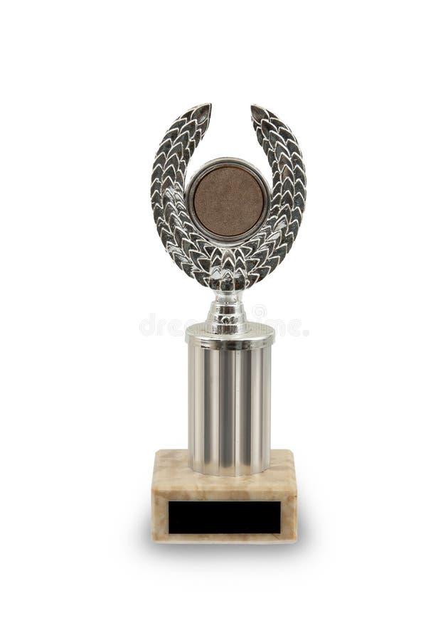 Vieux prix - premier trophée de championnat d'endroit photo stock