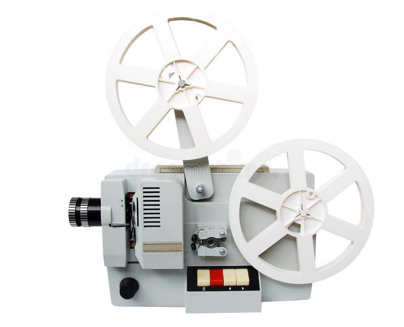 Vieux projecteur de film photo stock