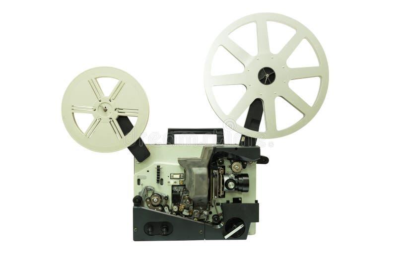 Vieux projecteur de film photos stock