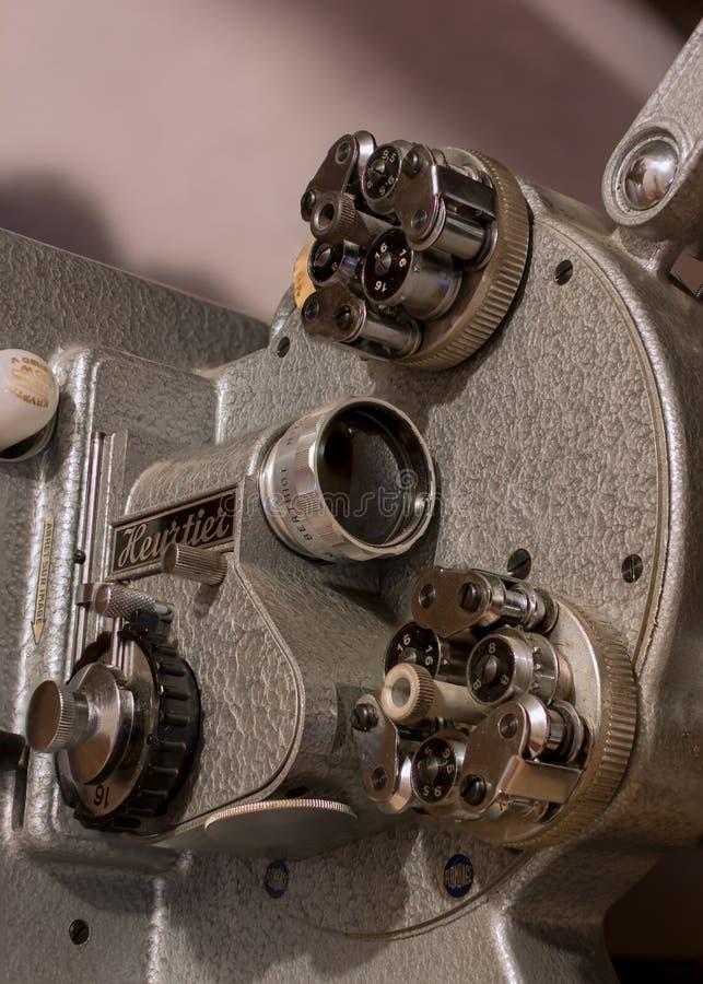 Vieux projecteur de film images libres de droits
