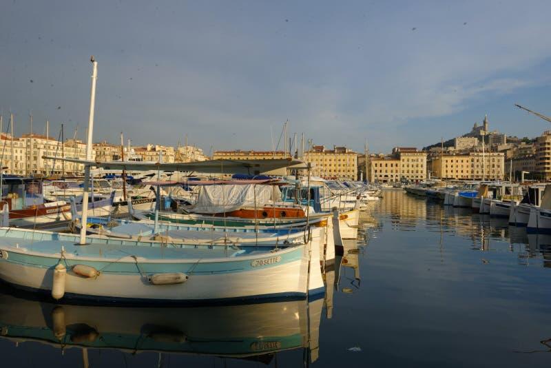 Vieux-puerto Marsella imágenes de archivo libres de regalías