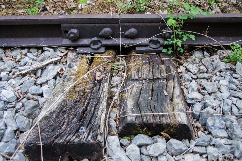 Vieux rail rouillé 01 photo stock