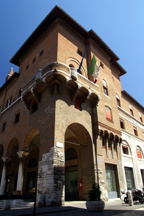 Vieux Ravenne de construction Italie photo stock