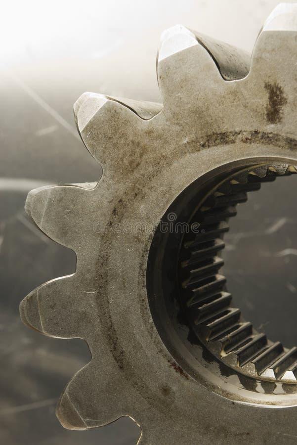 Vieux regard antique de roue dentée photos libres de droits