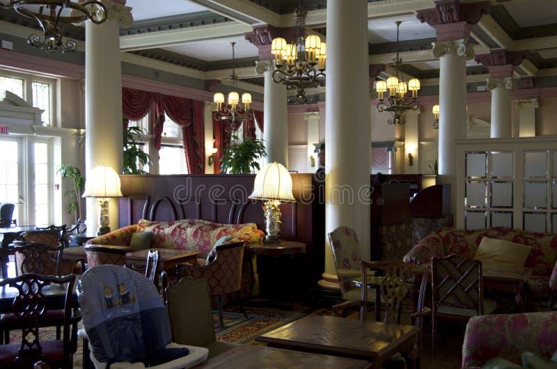 Vieux restaurant de fantaisie photos stock