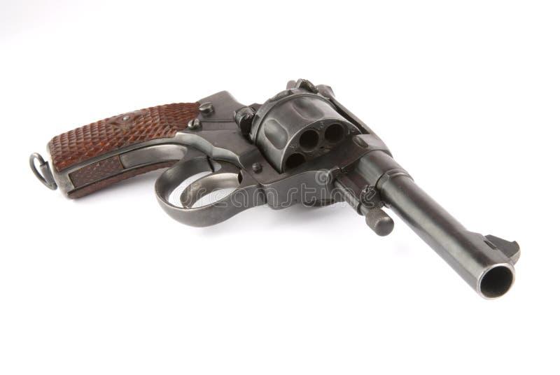 vieux revolver image stock