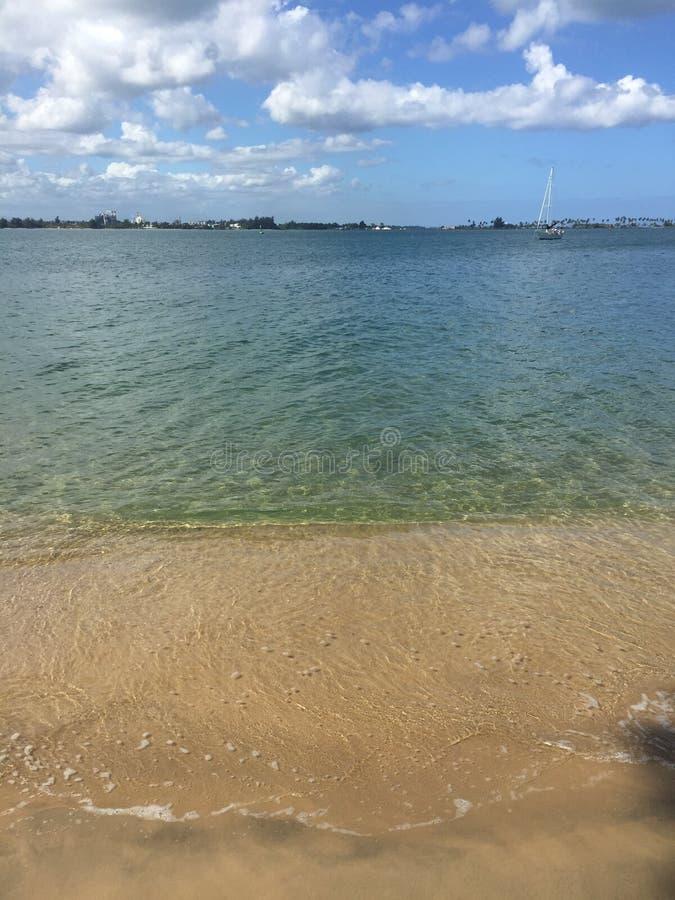 Vieux rivage de San Juan images stock