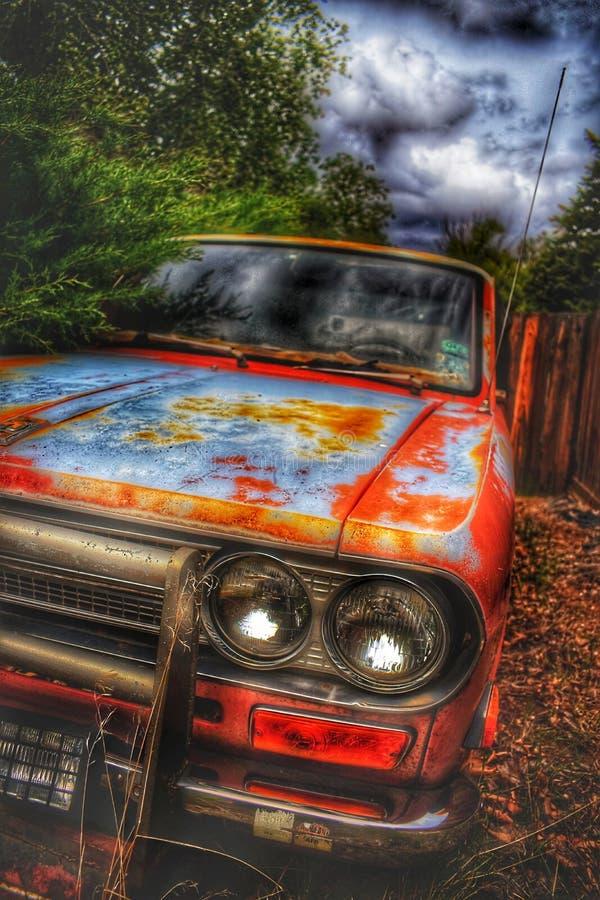 Vieux Rusty Abandoned Pick Up Trucks image libre de droits