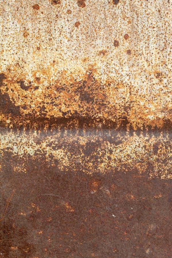 Vieux Rusty Metal Texture superficiel par les agents image libre de droits