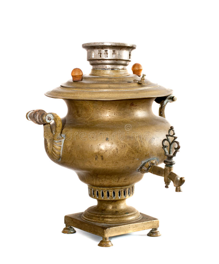 Vieux samovar antique photos libres de droits