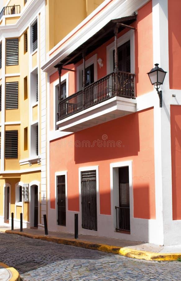 Vieux San Juan photographie stock