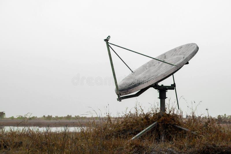Vieux satellite photos libres de droits
