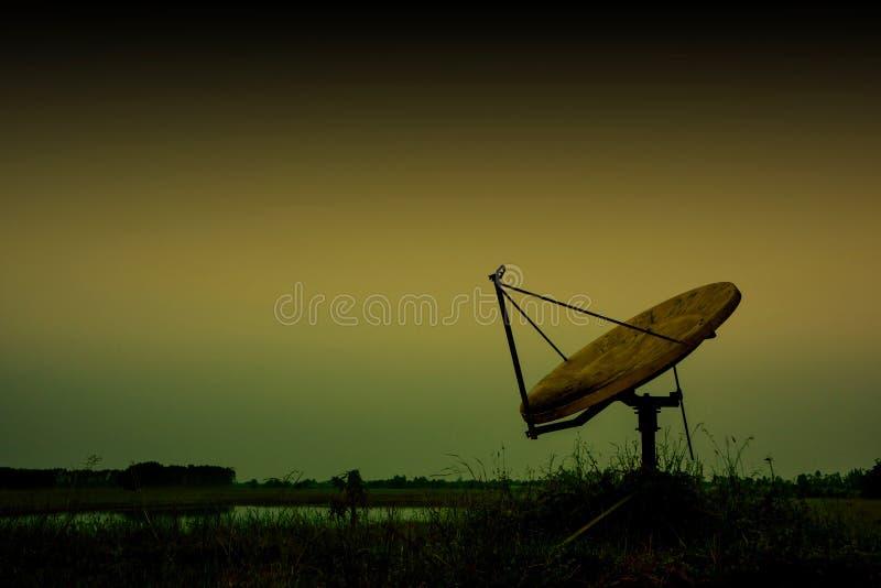 Vieux satellite image libre de droits