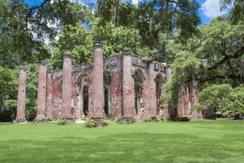Vieux Sheldon Church image libre de droits