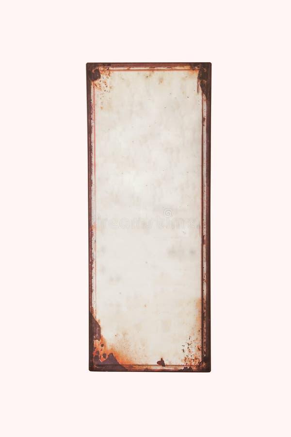Vieux signe vide photographie stock
