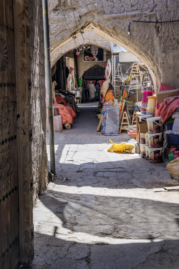 Vieux souq Nizwa photos stock