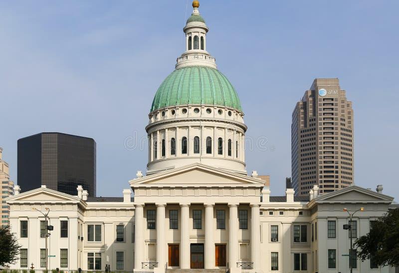 Vieux St Louis County Courthouse photos stock